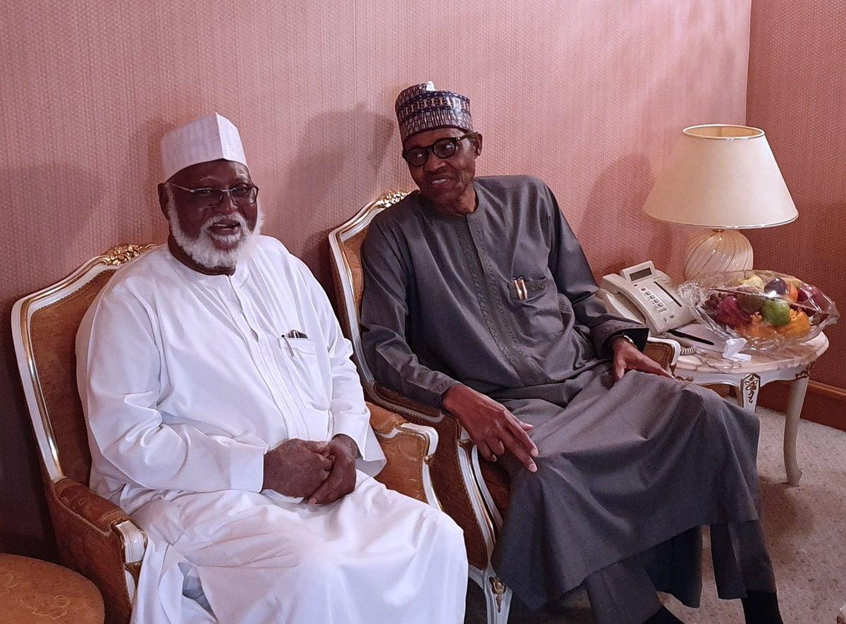 buhari and abubakar - Buhari, Abubakar Meet In Saudi Arabia (Photo)