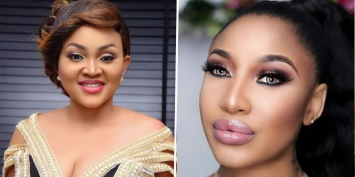 What Mercy Aigbe said on Tonto Dikeh's birthday