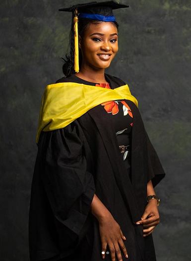 moji olaiyas daughter makes her proud as she graduates from babcock photos - Moji Olaiya's Daughter, Adunola Graduates From University