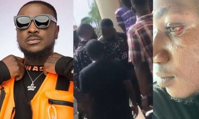Nigerians React As Peruzzi 'Assaults' Pamilerin Over Teni