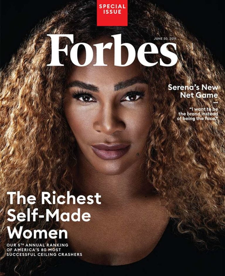 serena williams becomes the first athlete to make forbes richest self made women list 768x942 - Serena Williams Named As The First Athlete To Make Forbes' Richest Self-Made Women List