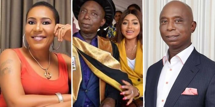 Instagram user replies Shan George over attack on Ned Nwoko
