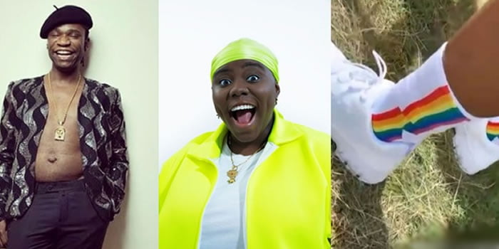 speed-darlington-claims-teni-is-gay-after-she-rocked-rainbow-coloured-socks-at-uk-event