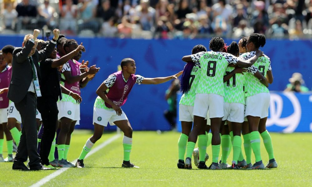 super falcons 1000x600 - Super Falcons Of Nigeria Defeats South Korea