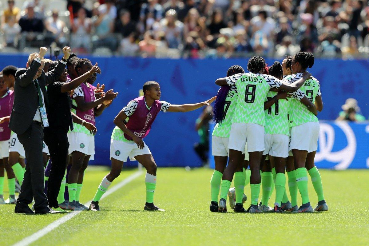 Super Falcons of Nigeria defeats South Korea