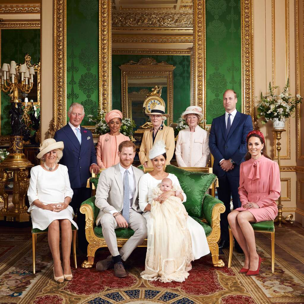 Archie, Royal Christening, Prince Harry, Prince William, Meghan Markle, Kate MiddletonChris Allerton / SussexRoyal