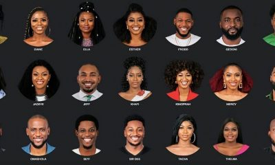 BBNaija 2019: Check Out State Of Origin, Name, Age Of 21 Housemates