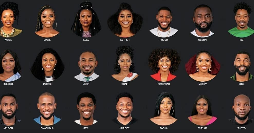 Image result for pictures of 2019 BBNaija housemates