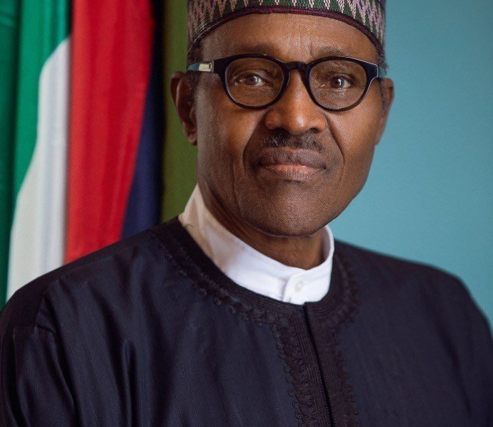 Buhari Official portrait 693x600 - What Buhai Said In New York About Killings, Corruption In Nigeria