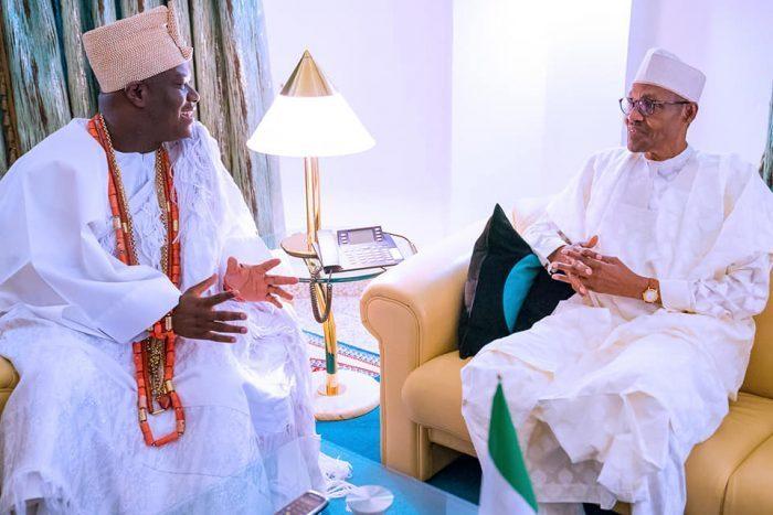 Buhari Ooni Of Ife