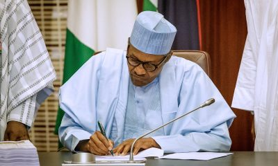 Breakdown of Buhari's 2020 budget