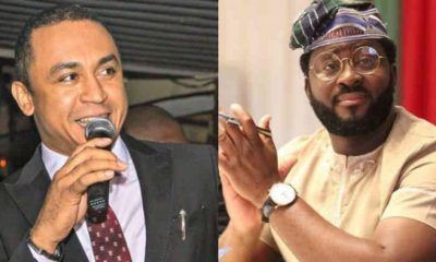 Daddy Freeze and Desmond Elliot