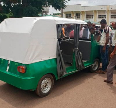 UNN Produces Electric car