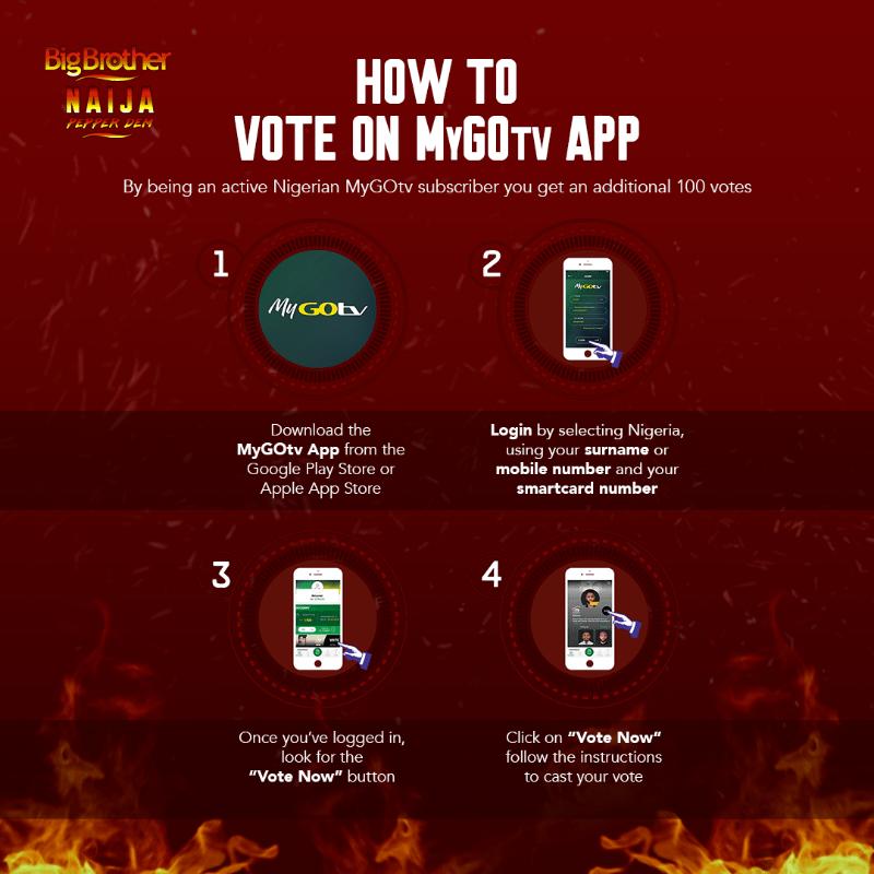 GOTV BB Naija voting - BBNaija 2019: Easy Steps To Vote For Your Favourite Housemate