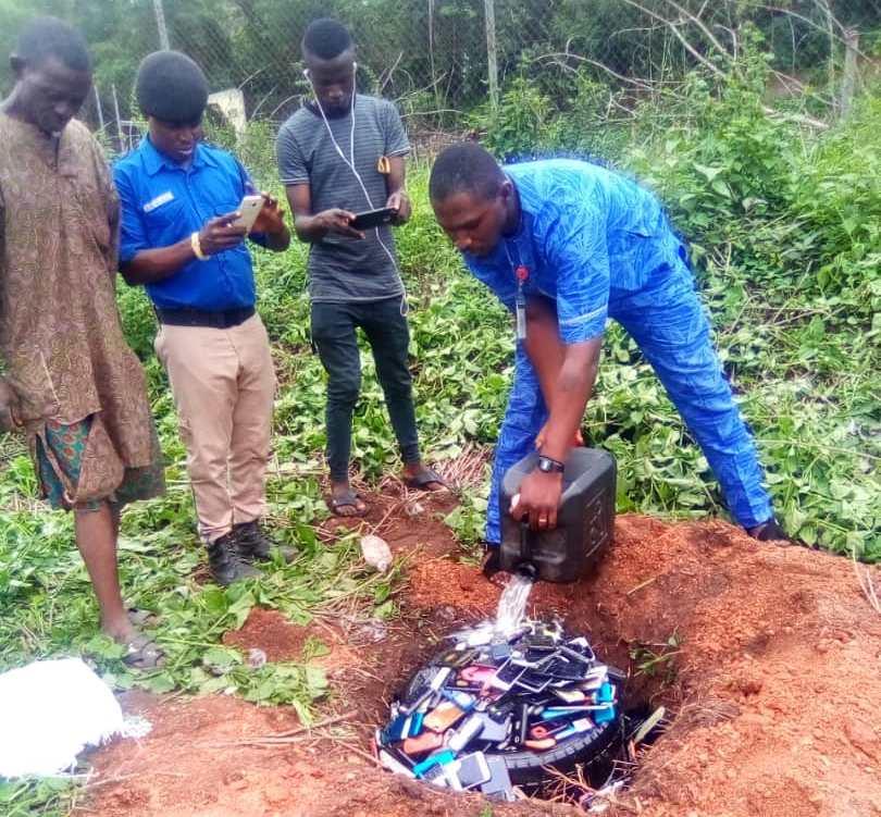 IMG 20190711 WA0002 - Polytechnic Ibadan Destroys Over 1,000 Phones Of Students Worth 15 Million