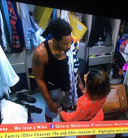 BBNaija: Watch Ike And Mercy Hot Romance (Part 2)