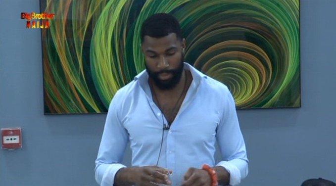 BBNaija: Watch The Epic Moment Mike Humbled Tacha