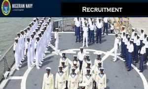 Nigerian Navy recruitment 300x180 - Nigerian Navy Releases List Of Successful Candidates For DSSC 28 Recruitment (Check Here)