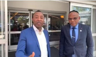 Biafra: Nnamdi Kanu Explodes Over Sowore's Re-Arrest By DSS