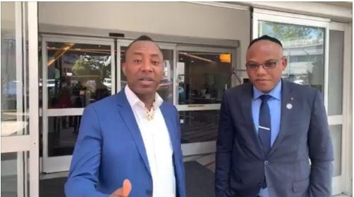 'Nigeria Is Useless, Fight For Oduduwa Republic'- Nnamdi Kanu Sends Message To Sowore
