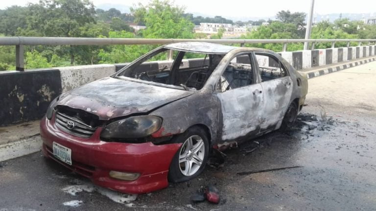 Shiites attack NASS7 768x432 - How Shi'ites Stormed National Assembly, Destroy Cars, Offices