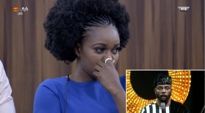 BBNaija: Thelma Evicted From 'Pepper Dem' House