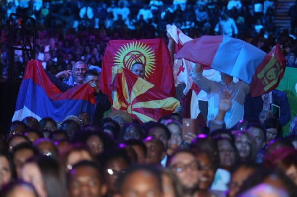 A total of 177 countries were in representation at the World Evangelism Conference with Pastor Chris Oyakhilome
