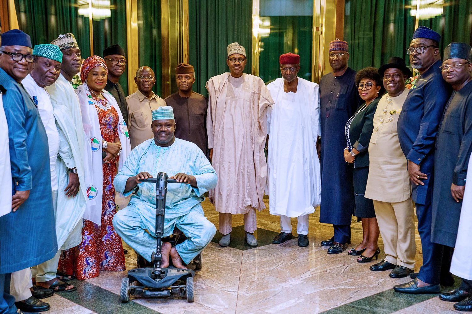 What President Buhari Discussed With APC NWC