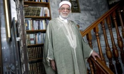 Abdelfattah Mourou at his home in La Marsa, in the northern suburbs of Tunis, on May 8, 2017.