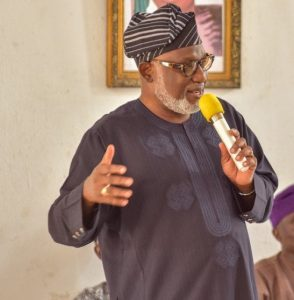 Akeredolu 294x300 - Govt Restricts Okada Operation In Ondo, Warn Vehicle Owners With Tinted Glasses