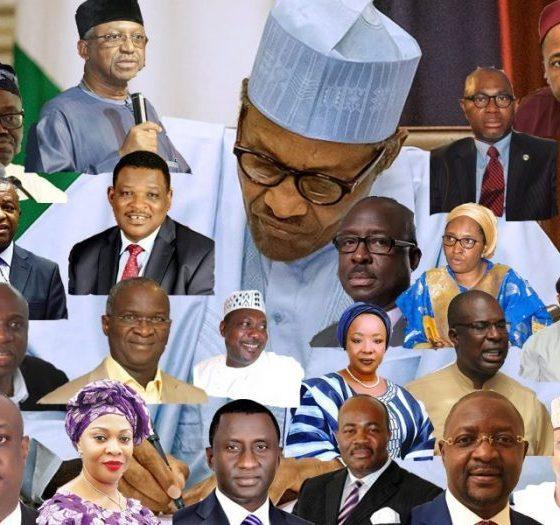 President Buhari Inaugurates Ministers