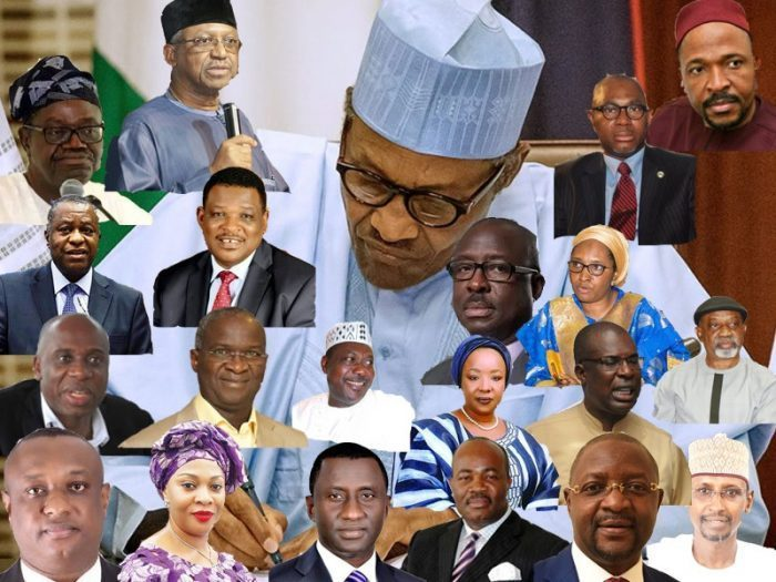 Next Level Cabinet: Profile Of All Buhari's 43 Ministers (Pt1)