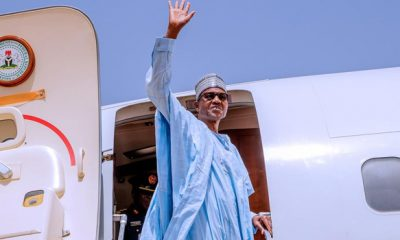 Just In: Buhari Departs Russia