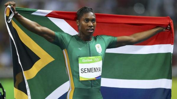 Caster Semenya won the gold medal in the womens 800 meters at the Olympic Games in Rio de Janeiro on August 20 2016. - Athletics: Caster Semenya, Ten Years Of Victories And Controversies