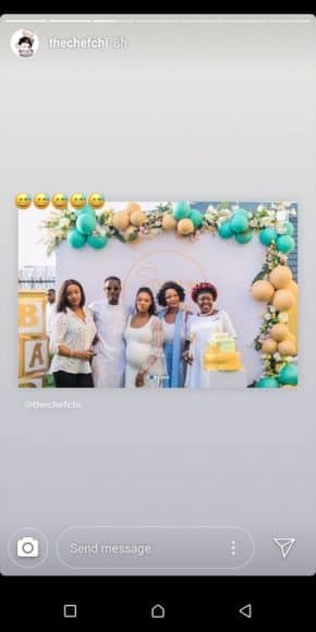 DavidoE28099s girlfriend Chioma Debunks Pregnancy Rumour 3 - Chioma Breaks Silence On Being Pregnant For Davido