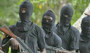 Gunmen fv 300x176 - Ex-ABU VC's Daughter Kidnapped By Gunmen In Kaduna