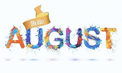 100 Happy New Month Messages, Prayers For August