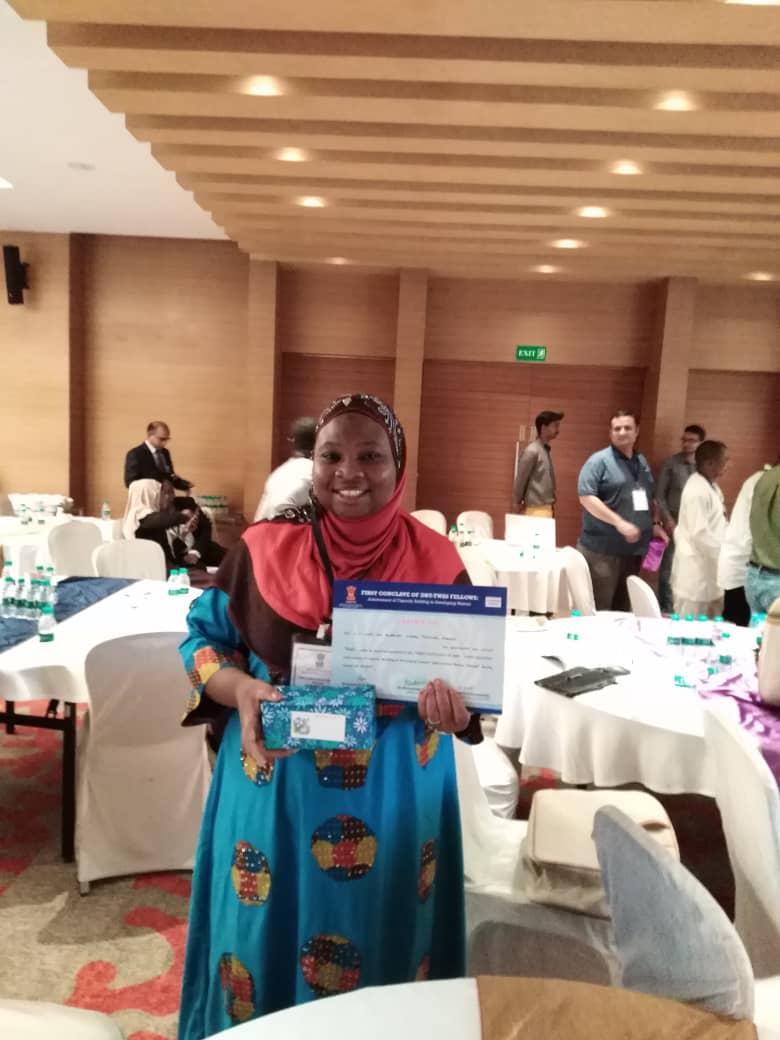 IMG 20190809 WA0045 - Nigerian PhD student Misitura Lawal-Arowona Develop Anti-Tuberculosis Drug In India