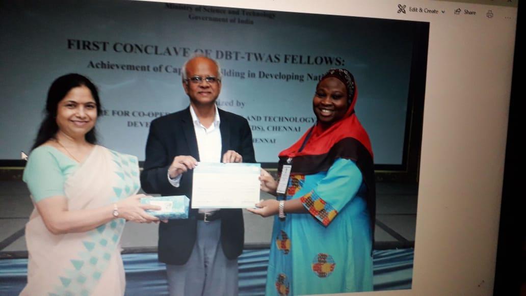 IMG 20190817 WA0025 - Nigerian PhD student Misitura Lawal-Arowona Develop Anti-Tuberculosis Drug In India