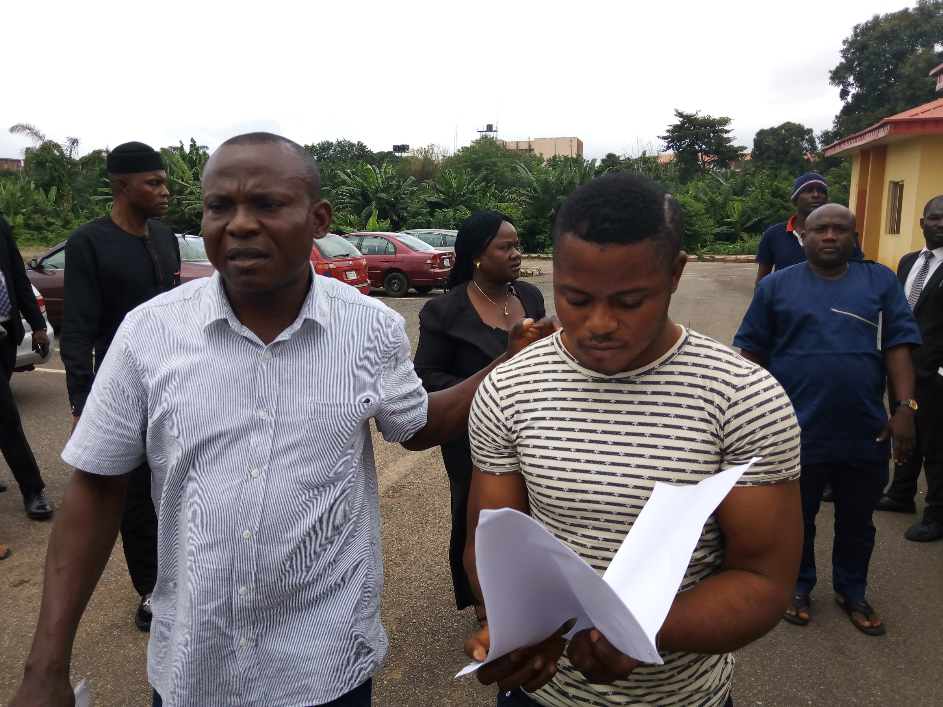 IMG 20190814 092807 0 - Soldier Accused Of Raping University Student Arraigned In Court (Photos)