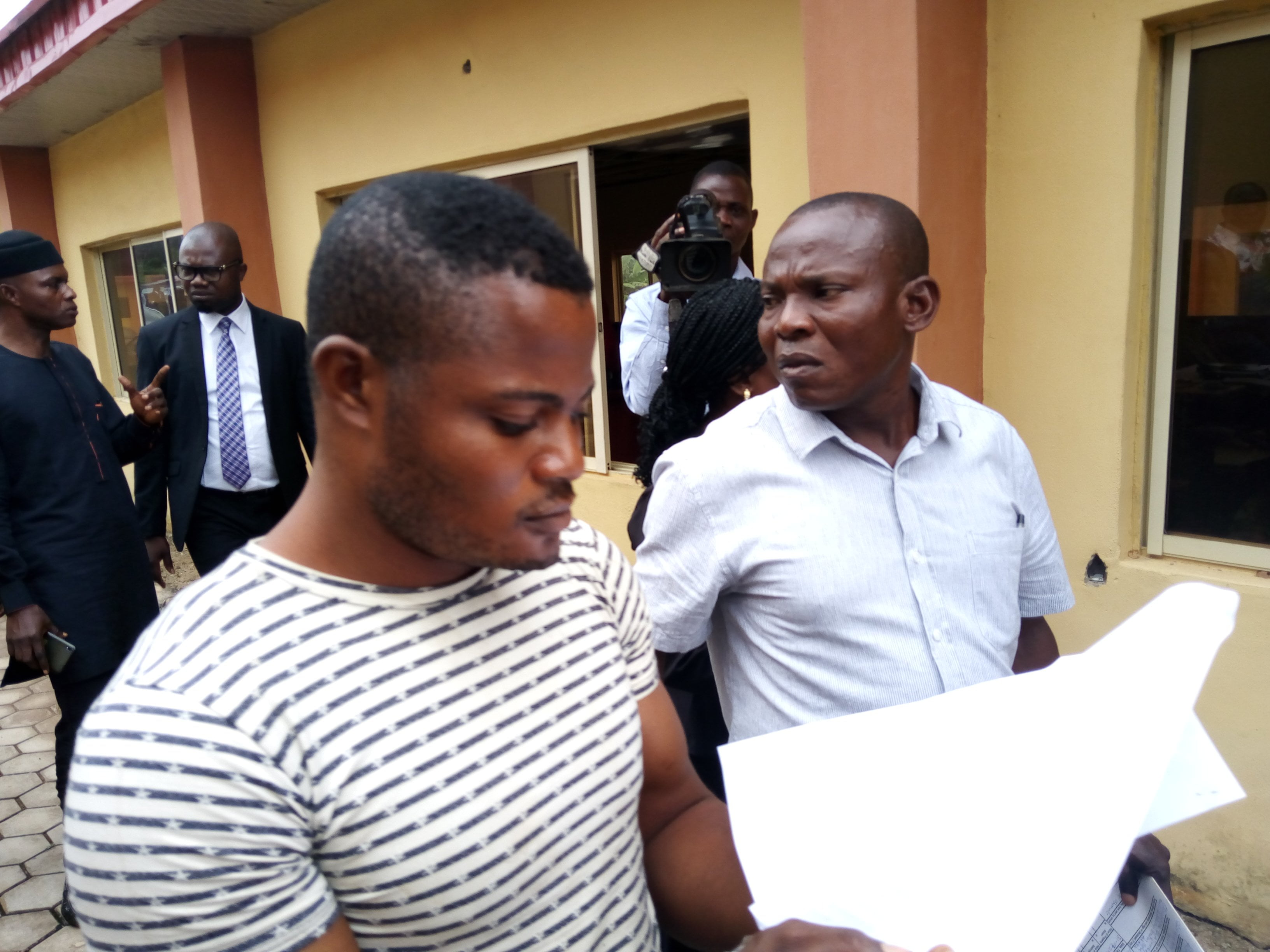 IMG 20190814 092826 8 - Soldier Accused Of Raping University Student Arraigned In Court (Photos)