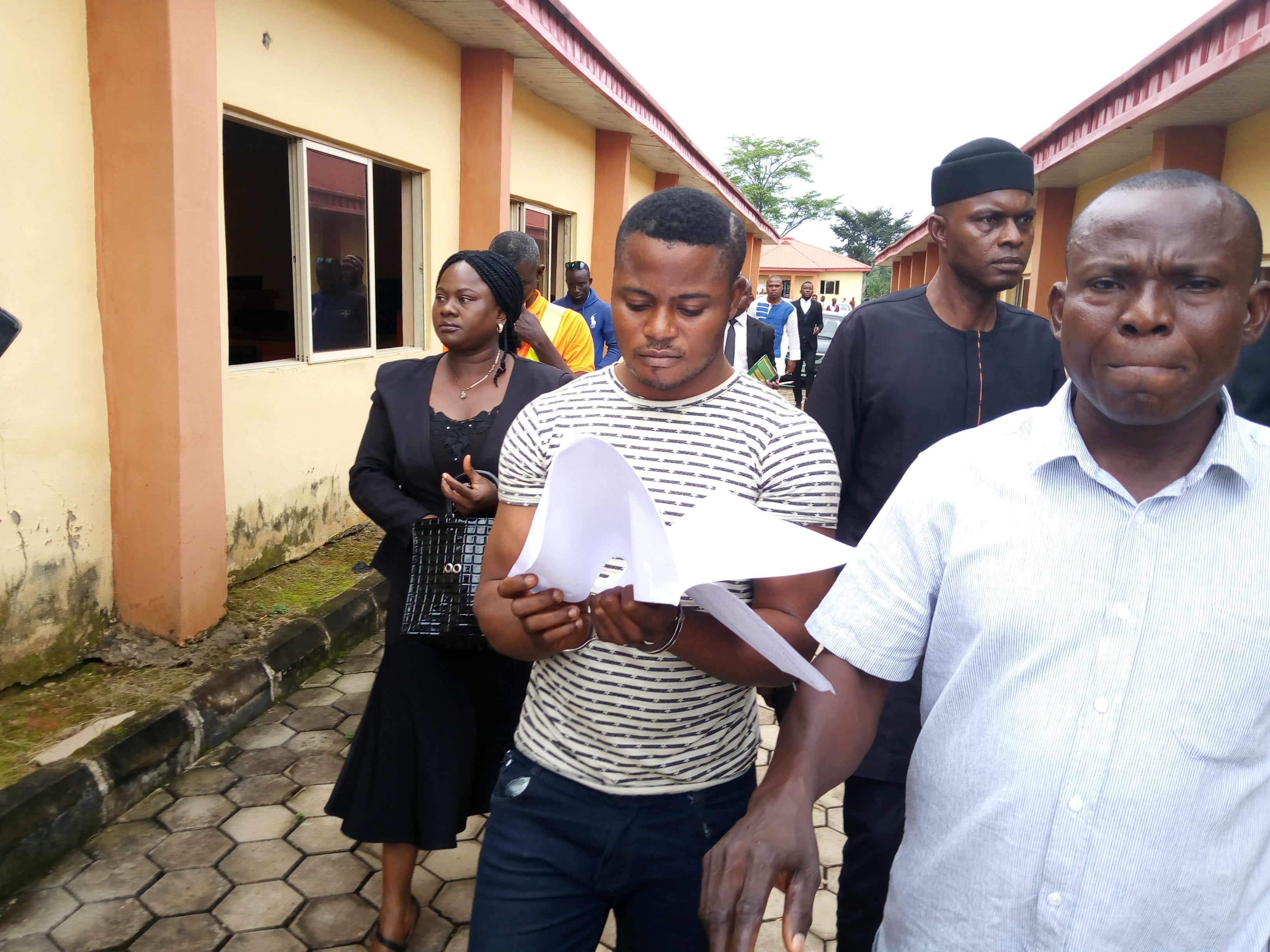 IMG 20190814 092855 7 - Soldier Accused Of Raping University Student Arraigned In Court (Photos)