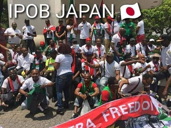 Image result for Buhari IPOB Japan