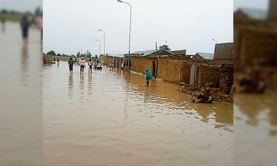 File Photo Of A Flood Scene in Nigeria