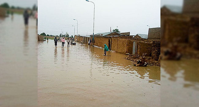 Jigawa flood 1 - Many Families Displaced After Flood Hits Jigawa And Niger