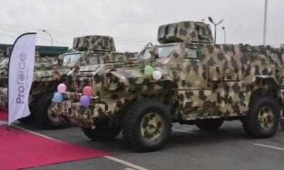 Nigerian Army Vehicle