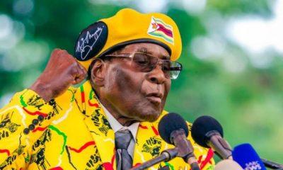 President Robert Mugabe, the former leader of Zimbabwe
