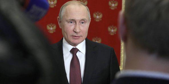 Russian President Vladimir Putin, July 24, 2019, in Moscow. © Mikhail Klimentyev