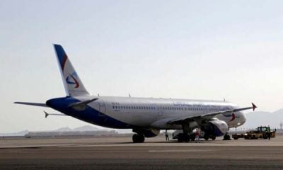 Russian Passenger plane