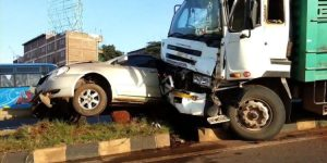 Truck accident  300x150 - Road Accident Claims 13 People, 70 Severely Injured In Katsina